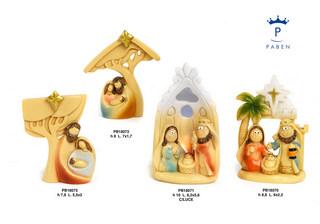 1DA1 - Presepi - Natività Resina - Natale e Altre Ricorrenze - Prodotti - Rebolab