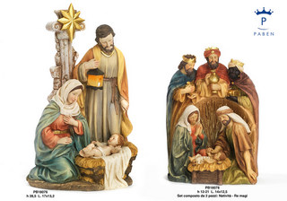 1DA3 - Presepi - Natività Resina - Natale e Altre Ricorrenze - Prodotti - Rebolab