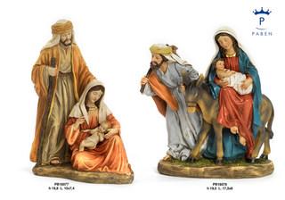 1DA4 - Presepi - Natività Resina - Natale e Altre Ricorrenze - Prodotti - Rebolab