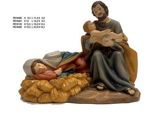 1DC3 - Presepi - Natività Resina - Natale e Altre Ricorrenze - Prodotti - Rebolab