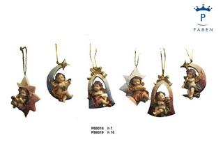 1E0F - Angeli Resina - Natale e Altre Ricorrenze - Prodotti - Rebolab