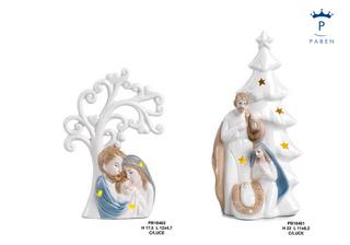 1E38 - Presepi - Natività Porcellana - Natale e Altre Ricorrenze - Prodotti - Paben