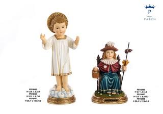 1E3F - Statue Santi - Articoli Religiosi - Prodotti - Paben