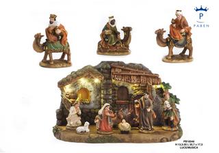 1E57 - Presepi - Natività Resina - Natale e Altre Ricorrenze - Prodotti - Paben